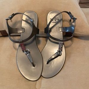 Coach Flat Sandals